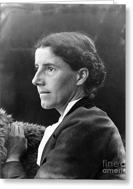 Charlotte Photographs Greeting Cards - Charlotte Perkins Gilman Greeting Card by Granger