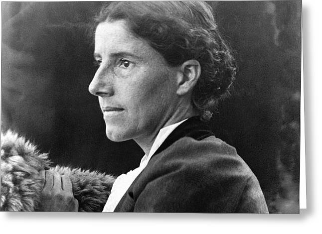 CHARLOTTE PERKINS GILMAN Greeting Card by Granger