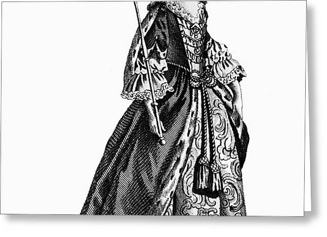 CHARLOTTE SOPHIA (1744-1818) Greeting Card by Granger