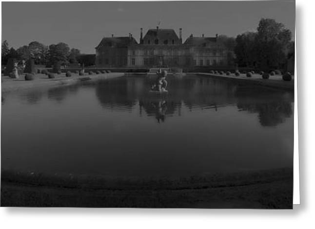 Dungeons Greeting Cards - Chateau de Breteuil dh 1 Greeting Card by Wessel Woortman