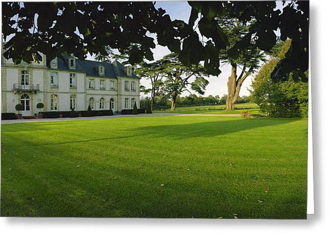 Calvados Greeting Cards - Chateau de Sully  Greeting Card by Jan Faul