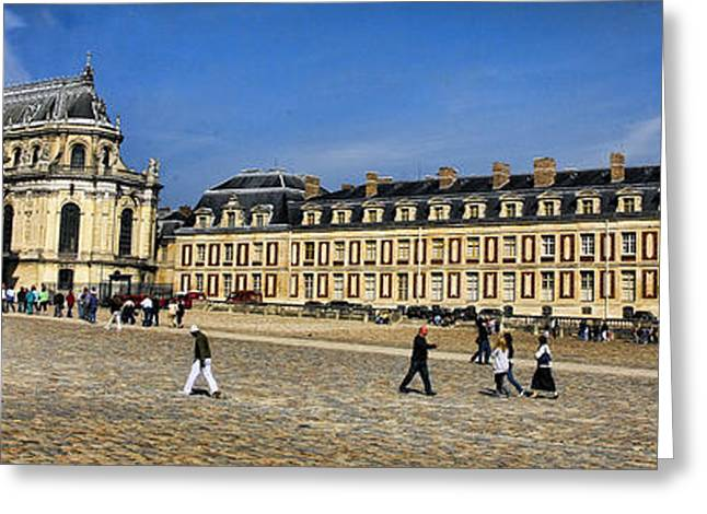Chateau Greeting Cards - Chateau De Versailles Greeting Card by Chuck Kuhn