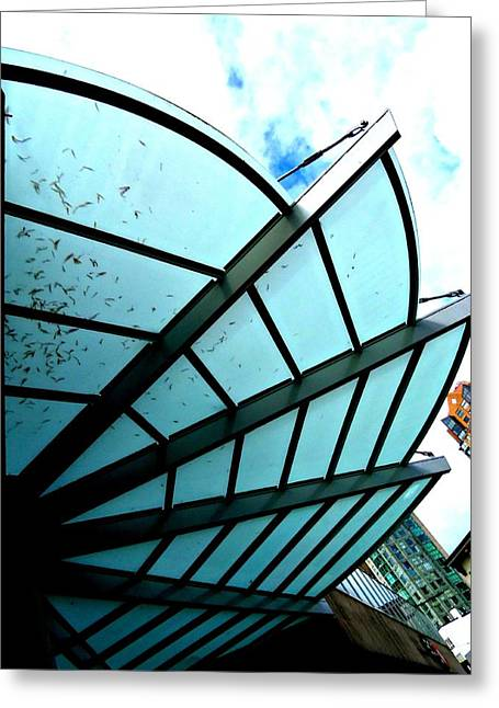 Chateau Greeting Cards - Chateau Granville Canopy Greeting Card by Randall Weidner