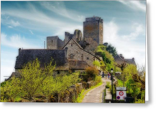 Midi Greeting Cards - Chateau Greeting Card by Rod Jones