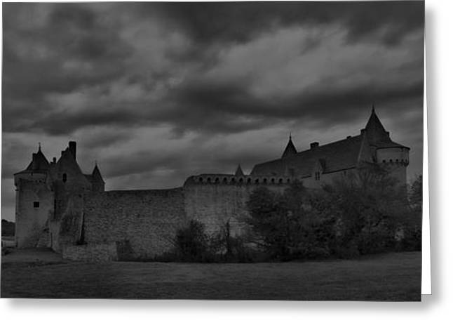 Dungeons Greeting Cards - Chateau Suscinio mk 2 Greeting Card by Wessel Woortman