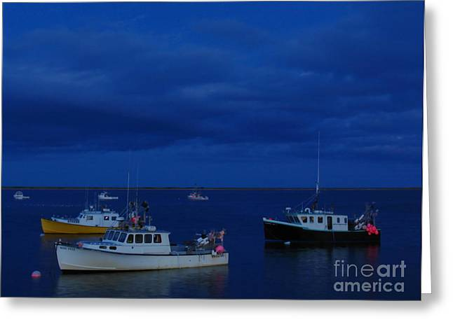 Chatham Pier Greeting Card by Juergen Roth