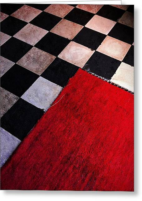 Checkmate Photographs Greeting Cards - Checkmate Greeting Card by Skip Hunt