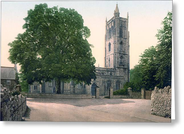 Historic England Greeting Cards - Cheddar - England - Church Greeting Card by International  Images