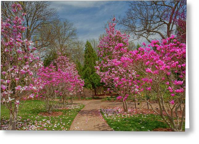 Best Sellers -  - Cheekwood Greeting Cards - Cheekwood Gardens Greeting Card by Charles Warren