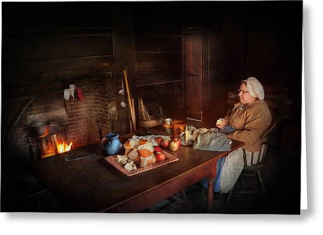 Gifts For A Chef Greeting Cards - Chef - Kitchen - Maud  Greeting Card by Mike Savad