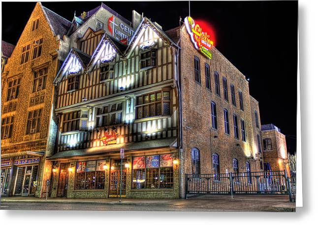 Cheli's Chili Bar Detroit Greeting Card by Nicholas  Grunas