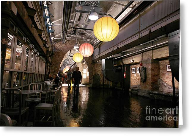 Chelsea Greeting Cards - Chelsea Market Greeting Card by David Bearden