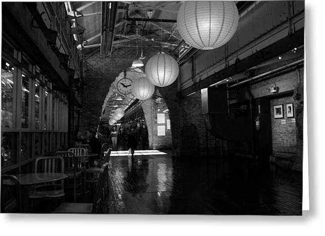 Chelsea Market interior Greeting Card by David Bearden