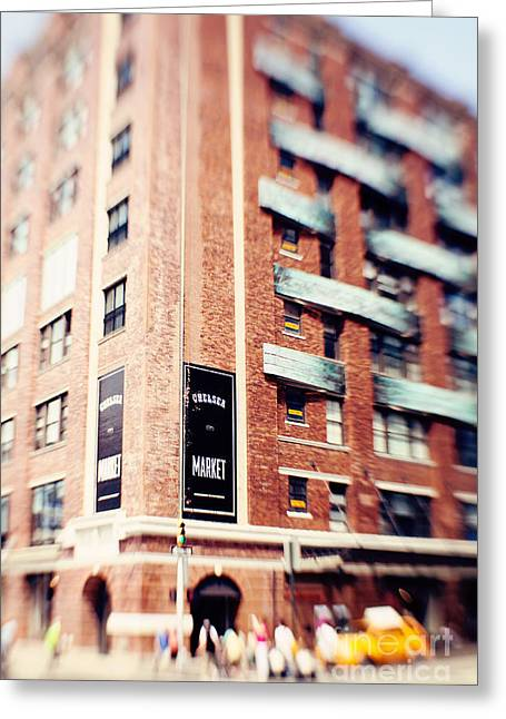 Chelsea Photographs Greeting Cards - Chelsea Market New York City Greeting Card by Kim Fearheiley