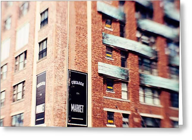 Chelsea Market New York City Greeting Card by Kim Fearheiley