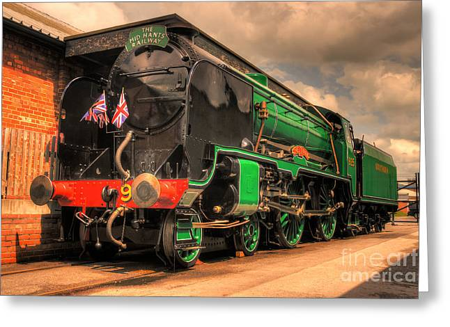 Southern Class Greeting Cards - Cheltenham at York  Greeting Card by Rob Hawkins