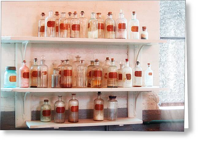 Present For You Greeting Cards - Chemist - A bit of this A bit of that Greeting Card by Mike Savad