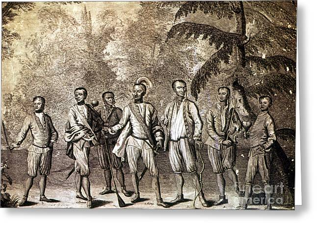 Delegate Greeting Cards - Cherokee Delegation, 1730 Greeting Card by Granger