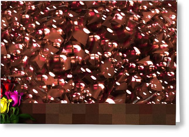 Robert Matson Greeting Cards - Cherries and Chocolates Greeting Card Greeting Card by Robert Matson
