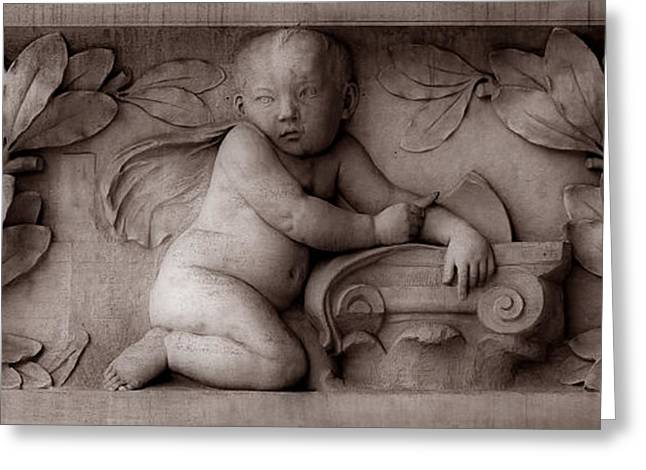 Orator Greeting Cards - Cherubs 3 Greeting Card by Andrew Fare