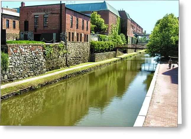 Canal Prints Greeting Cards - Chesapeake and Ohio Canal I Greeting Card by Steven Ainsworth