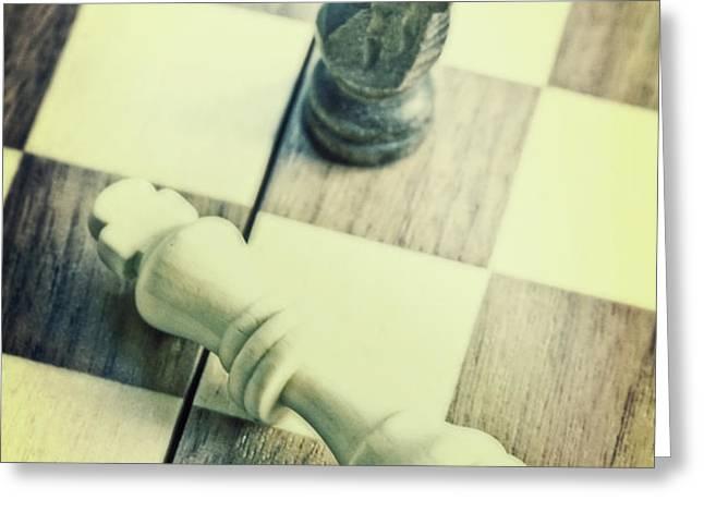 chess Greeting Card by Joana Kruse