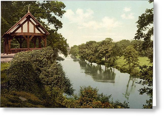 River Dee Greeting Cards - Chester - England - Dee River Greeting Card by International  Images