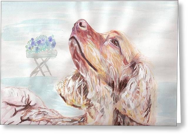 Arthur Rice Greeting Cards - Chester Greeting Card by Arthur Rice
