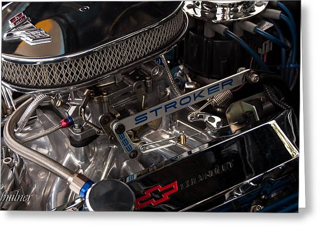 383 Greeting Cards - Chevelle Stroker Greeting Card by Steven Milner