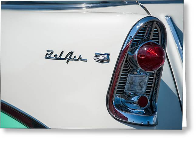 Chevrolet Belair Greeting Card by Gary Rose