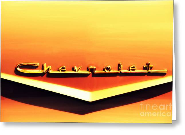 Auction Greeting Cards - Chevrolet Greeting Card by Susanne Van Hulst