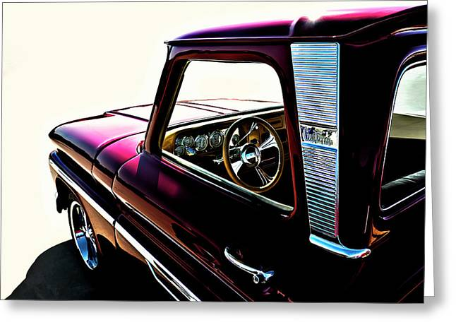 Chevrolet Pickup Truck Digital Greeting Cards - Chevy Pickup Greeting Card by Douglas Pittman