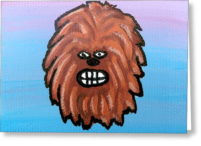 Chewy Greeting Card by Jera Sky