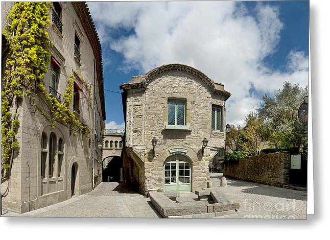Languedoc Greeting Cards - Chez Saskia Greeting Card by Robert Lacy