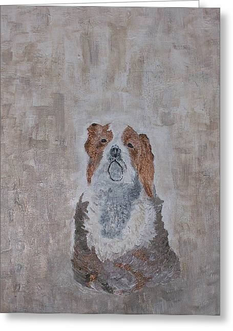 Dog Reliefs Greeting Cards - Chiari Dog Greeting Card by Roy Penny