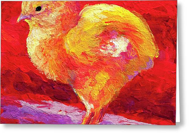 Barnyard Animals Greeting Cards - Chic Flic IV Greeting Card by Marion Rose