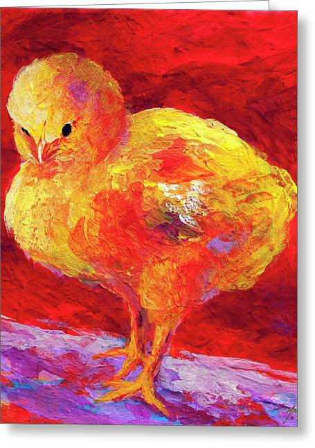 Barnyard Animals Greeting Cards - Chic Flic VII Greeting Card by Marion Rose