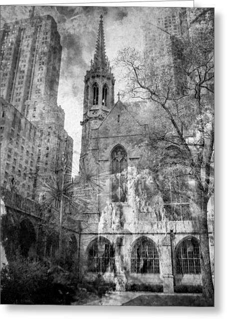 Nikon D80 Greeting Cards - Chicago Fire Greeting Card by Sonja Quintero