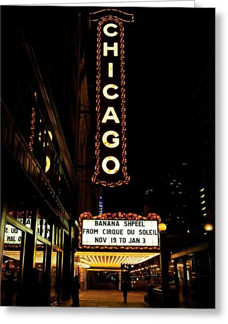Limelight Photographs Greeting Cards - Chicago Limelights Greeting Card by Miranda  Miranda
