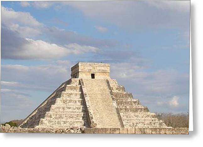 Pyramids Greeting Cards Greeting Cards - Chichen Itza  Look at me  Greeting Card by Giampaolo Piemontese