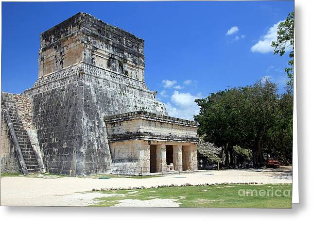 Chichen Itza Greeting Cards - Chichen Itza Mexico Greeting Card by Sophie Vigneault