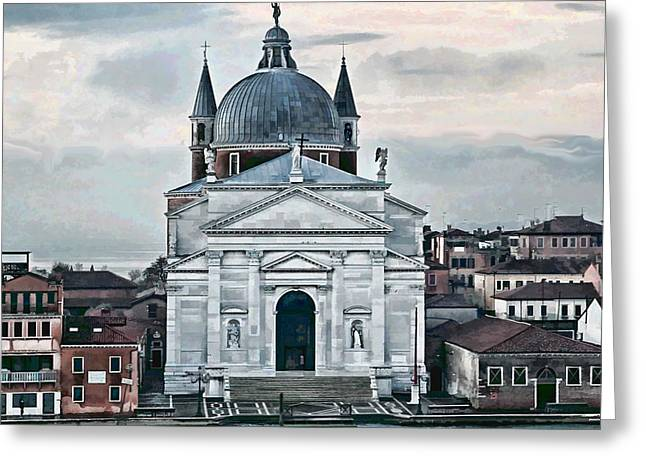 Artistic Photography Greeting Cards - Chiesa del Redentore Venice Greeting Card by Tom Prendergast