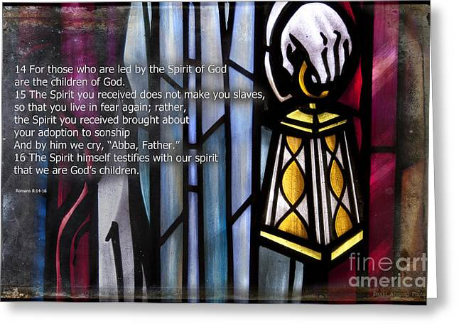 Abba Father Greeting Cards - Children of God Greeting Card by David Arment