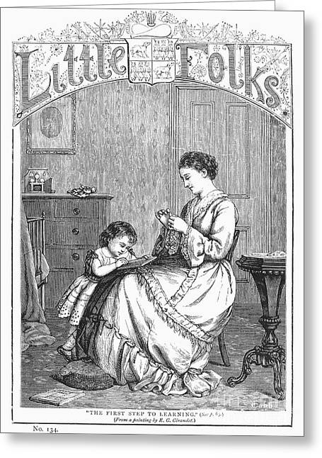 Childrens Magazine, C1885 Greeting Card by Granger