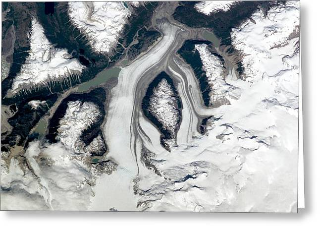 Pare Greeting Cards - Chilean Glaciers Greeting Card by Nasa