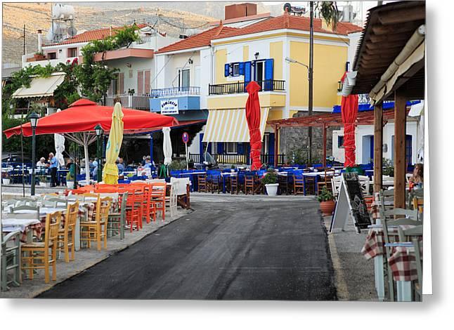 Chios Greece 2 Greeting Card by Emmanuel Panagiotakis