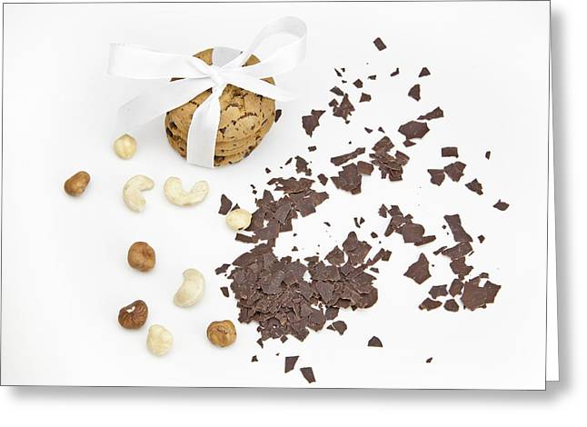 Grate Greeting Cards - Chocolate biscuits Greeting Card by Joana Kruse