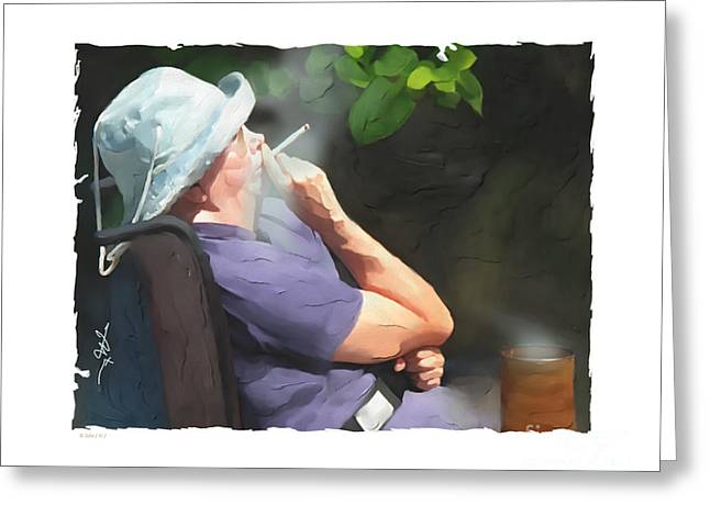 Wheelchair Greeting Cards - Choices Greeting Card by Bob Salo