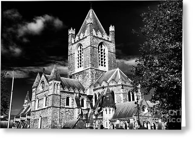 Old Christ Church Greeting Cards - Christ Church Greeting Card by John Rizzuto