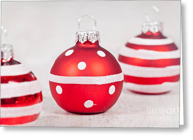 Festivities Greeting Cards - Christmas balls Greeting Card by Sabino Parente